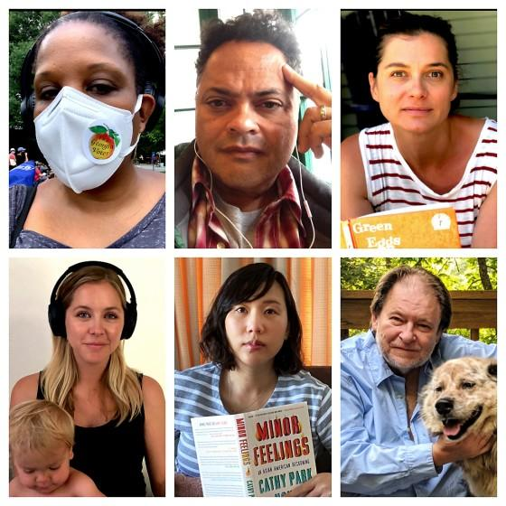 """From top left, clockwise, are authors Tayari Jones, Jervey Tervalon, Ivy Pochoda, Rick Bragg, Steph Cha and Stephanie Danler. <span class=""""copyright"""">(Photos from of the authors)</span>"""
