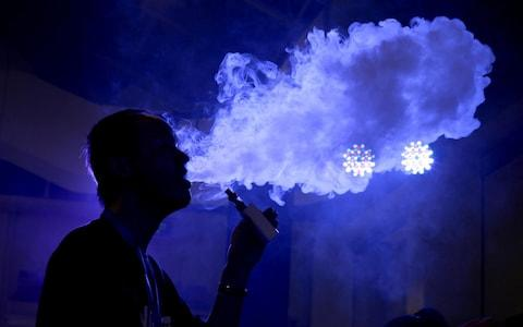 In the UK, people aged 25-34 or 35-49 are most likely to vape - Credit: Jason Lee/Reuters
