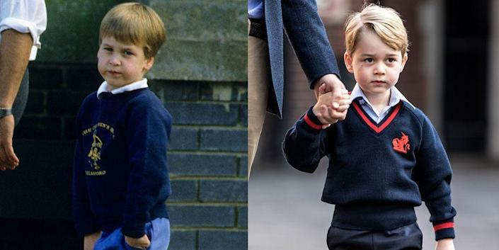 <p>Is style a prerequisite for being the future King of England? For Prince William and his son, George, who both pulled off the preppy sweater game even at the age of 5, it certainly seems like it. </p>