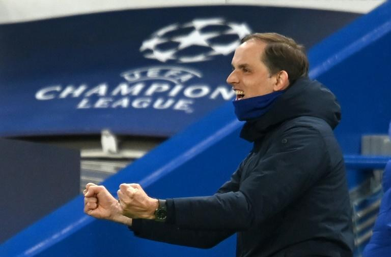 Final-bound again: Thomas Tuchel has guided Chelsea to the Champions League final less than four months after taking charge