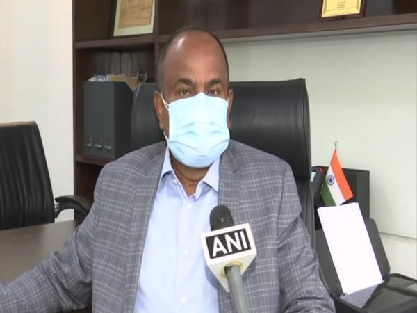 Dr K Anand Kumar, Managing Director of Indian Immunologicals, Hyderabad (Photo/ANI)