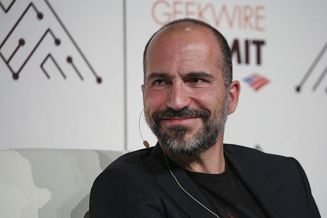 Uber CEO apologises for 'mistakes' after company hit with London ban