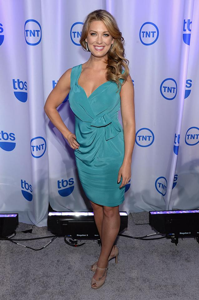 "Briga Heelan (""Ground Floor"") attends the 2013 TNT/TBS Upfront at Hammerstein Ballroom on May 15, 2013 in New York City."