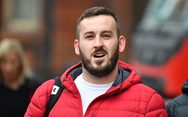 James Goddard has been found guilty of common assault following a trial at Manchester Magistrates Court - PA