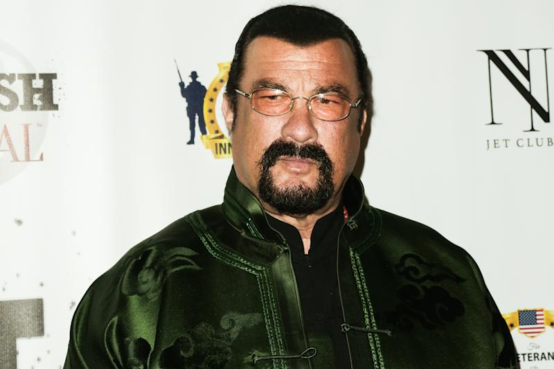 Steven Seagal accused of raping teenage actor in 1993