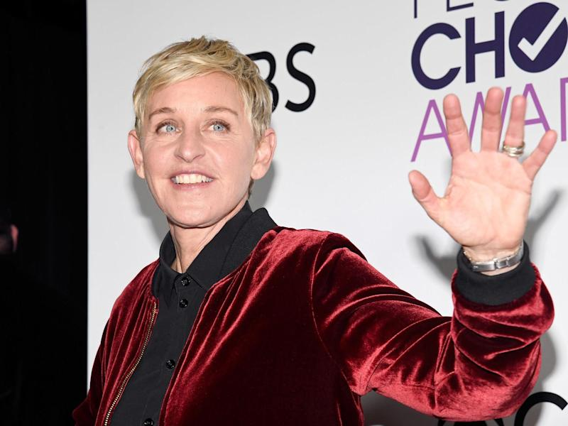 Ellen Degeneres has been accused of enabling a toxic work environment on her daytime talk show: Getty