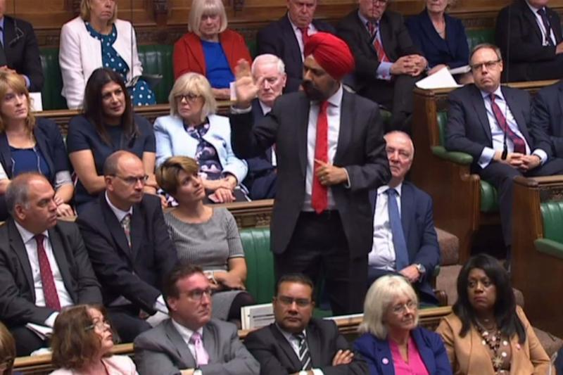 Labour MP Tanmanjeet Singh Dhesi (AFP/Getty Images)