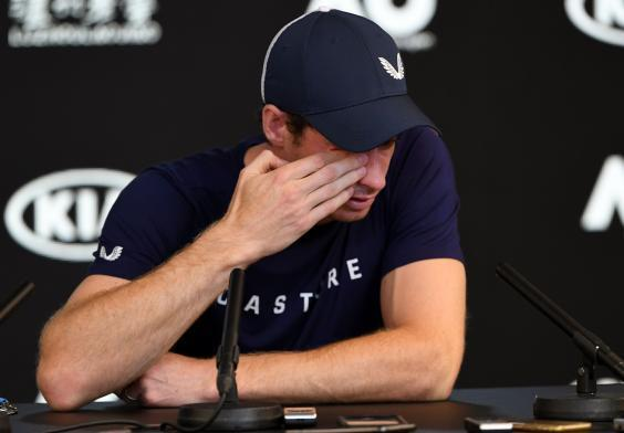 Andy Murray's career is almost over (AFP/Getty)