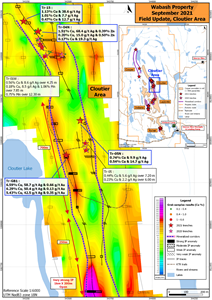 Wabash property – Tr-GB1 results and IP-16 anomaly