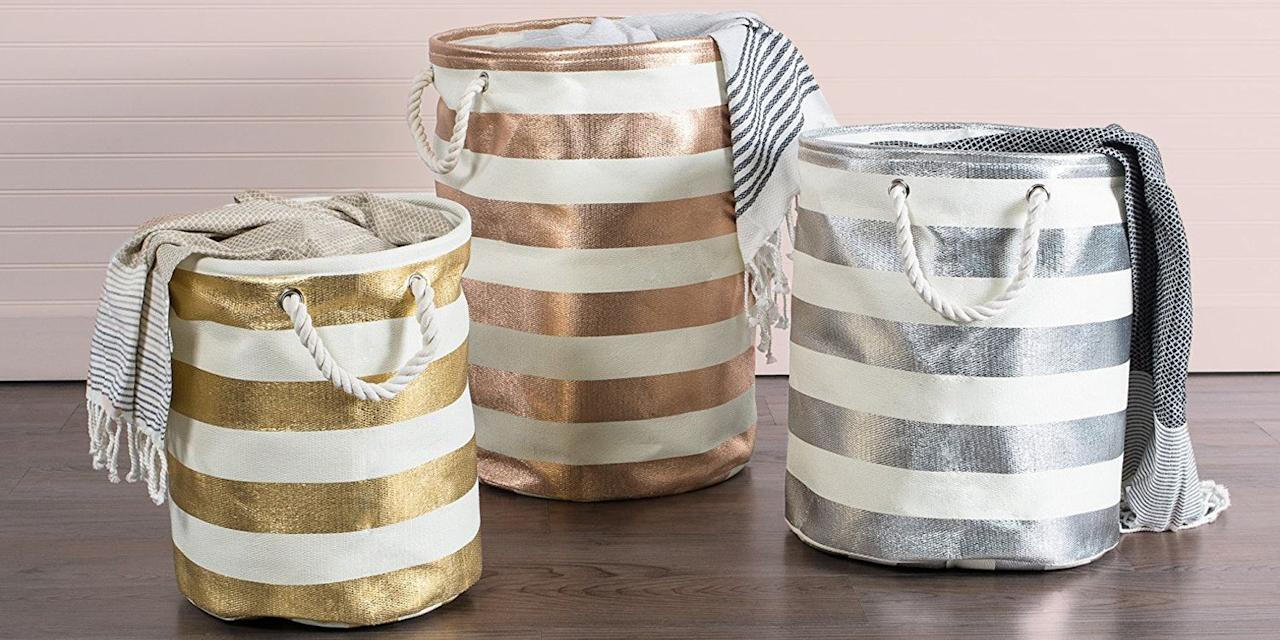 <p>We've rounded up the most adorable baby laundry hampers, baskets, bags, and more for every kind of nursery. Browse through our top picks and bring one home for your little one! </p>