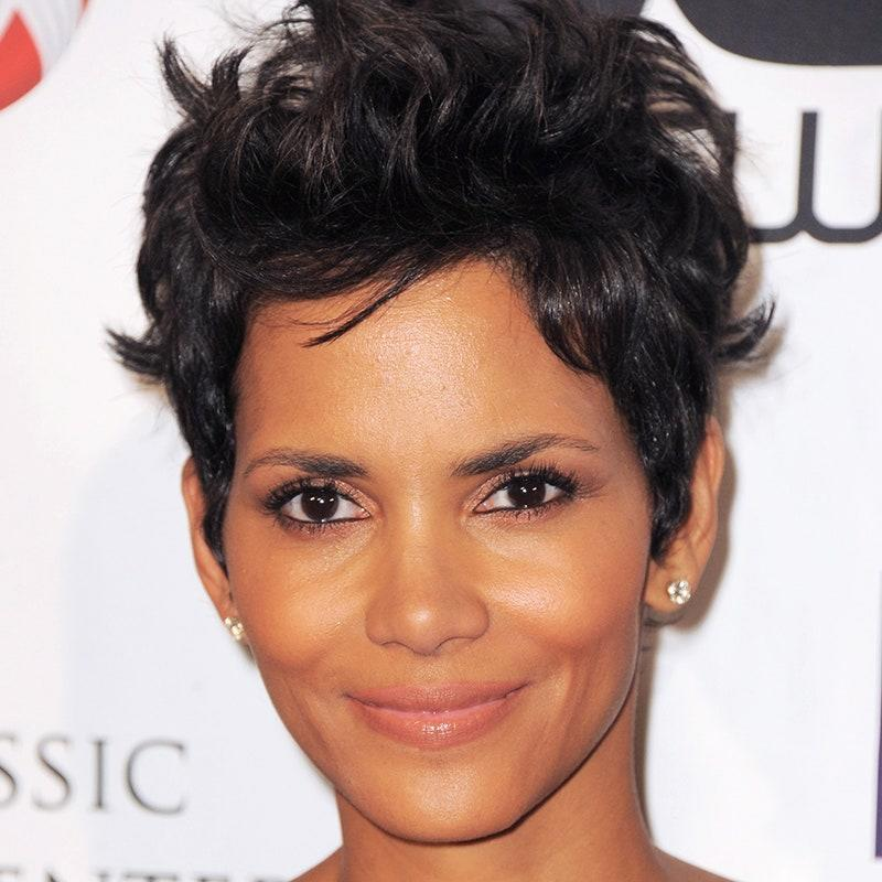 """Forget everything you've heard about short curly hairstyles. Halle Berry's tough-but-soft crop works on nearly any texture and isn't as high-maintenance as you'd think. Ask your stylist for a graduated pixie style. """"You don't want a precision cut,"""" says hairstylist and owner of <a href=""""https://theblushingfinch.com/"""" rel=""""nofollow noopener"""" target=""""_blank"""" data-ylk=""""slk:Blushing Finch"""" class=""""link rapid-noclick-resp"""">Blushing Finch</a>, <a href=""""https://www.instagram.com/the_morgan_factor/?hl=en"""" rel=""""nofollow noopener"""" target=""""_blank"""" data-ylk=""""slk:Morgan Willhite"""" class=""""link rapid-noclick-resp"""">Morgan Willhite</a>. """"It should be longer on top to show off the texture and choppiness."""" Let it dry naturally and use a frizz-control product to give the top separation and shine."""