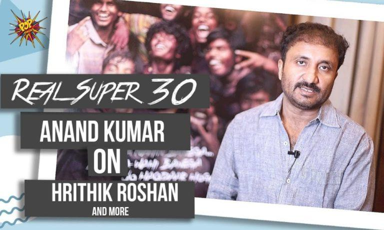 Anand Kumar is all praise for Hrithik Roshan For His Act In Super 30