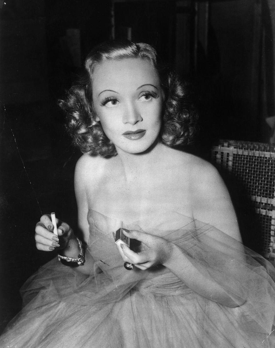 <p>Known for her many romantic dalliances with the likes of Ernest Hemingway, Joseph F. Kennedy, and Jean Gabin, Dietrich was outwardly confident and glamorous, but is said to have struggled with insecurities and self-doubt her entire life. <br></p>