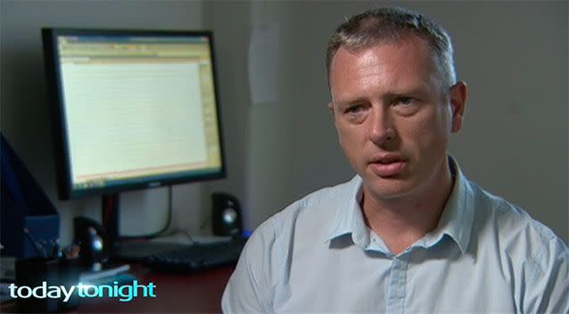 Dr Simon Williams said the virus could have passed through Bonnie's fragile skin. Photo: Today Tonight