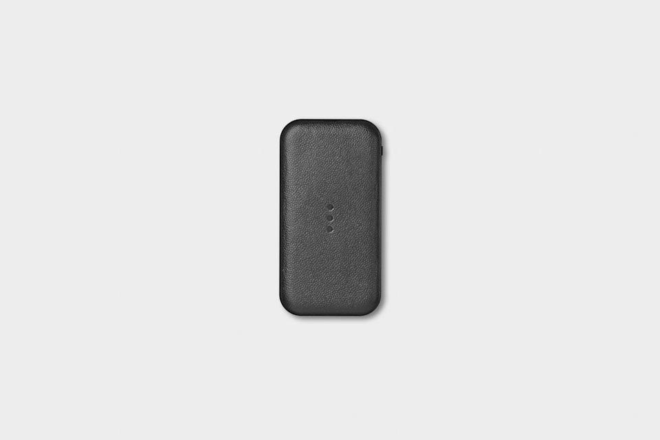 <p>The <span>Courant Carry</span> ($75, originally $150) is a rechargeable powerbank that charges devices wirelessly! It's the ultimate portable charger with a sleek design.</p>