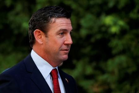 Opponent pounces after Duncan Hunter's wife switches to guilty plea