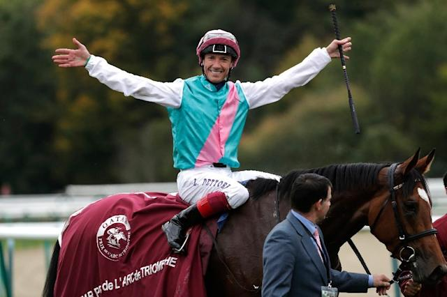 The new plans would see top flat jockeys like Frankie Dettori compete for a Formula One-style championship (AFP Photo/Thomas Samson)