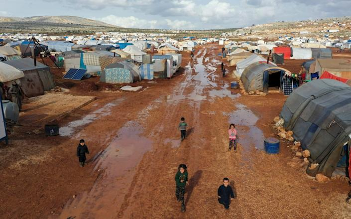 The United Nations says the humanitarian needs of Syrians are greater today than ever after 10 years of war - AP