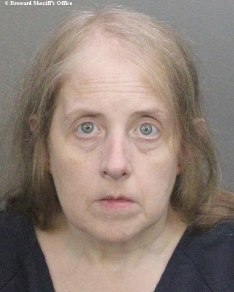 Lucy Richards, 57, was sentenced to five months in prison for sending threatening messages to the father of a Sandy Hook shooting victim. (Handout . / Reuters)