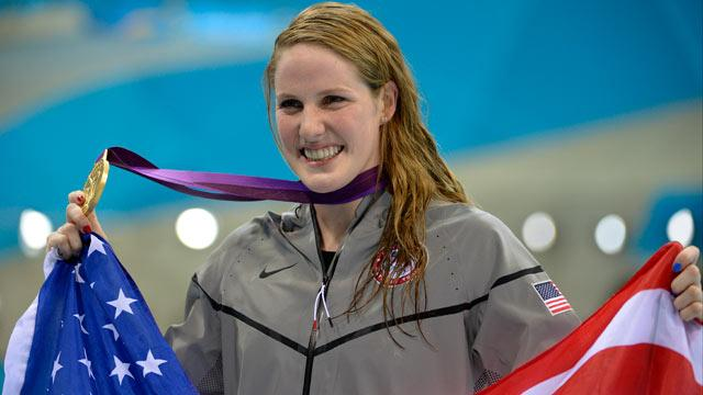 Missy Franklin: New Queen of Swimming Takes First Individual Gold Medal