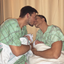"<p>The <em>Million Dollar Listing New York</em> star and husband Derek Kaplan shared this life-changing moment: holding their newborn twins in their arms. ""Happiest moment of my life,"" the real estate mogul gushed. ""Welcome Fredrick and Milla to the world."" (Photo: <a rel=""nofollow noopener"" href=""https://www.instagram.com/p/BcDwHvQg_9b/?taken-by=fredrikeklundny"" target=""_blank"" data-ylk=""slk:Fredrick Eklund via Instagram"" class=""link rapid-noclick-resp"">Fredrick Eklund via Instagram</a>) </p>"
