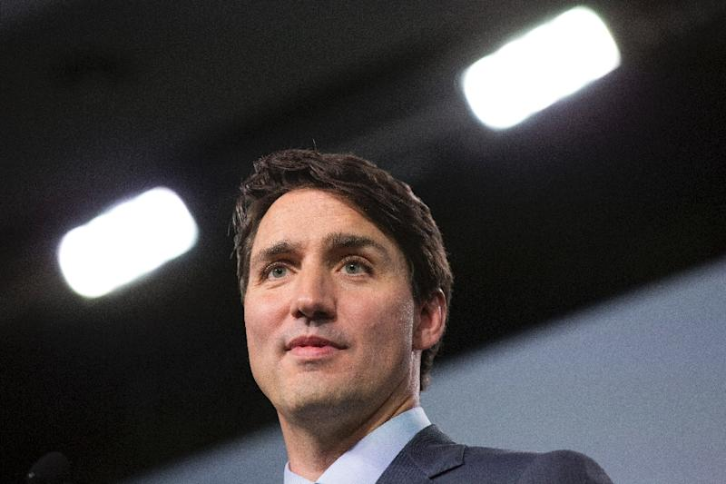 Canadian Prime Minister Justin Trudeau has denied his office intervened in the prosecution of SNC-Lavalin engineering firm (AFP Photo/Lars Hagberg)