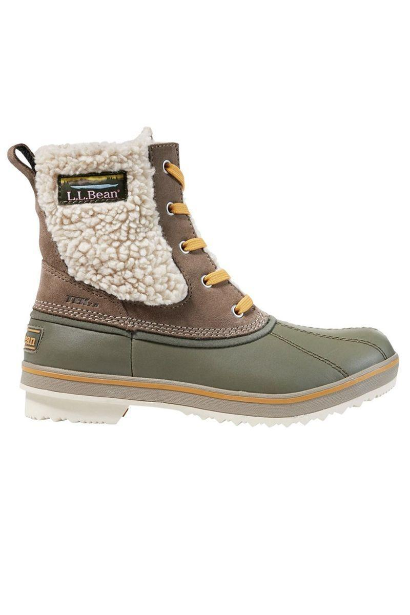 """<p><strong>L.L.Bean</strong></p><p>llbean.com</p><p><strong>$139.00</strong></p><p><a href=""""https://go.redirectingat.com?id=74968X1596630&url=https%3A%2F%2Fwww.llbean.com%2Fllb%2Fshop%2F123156%3Fpage%3Dwomens-rangeley-pac-boot-ankle-waterproof-insulated-womens%26bc%3D474-630-506708-506711%26feat%3D506711-GN3%26csp%3Da%26pos%3D4&sref=https%3A%2F%2Fwww.marieclaire.com%2Ffashion%2Fg3388%2Fsnow-boots-for-women%2F"""" rel=""""nofollow noopener"""" target=""""_blank"""" data-ylk=""""slk:SHOP IT"""" class=""""link rapid-noclick-resp"""">SHOP IT</a></p><p>This classic snow boot has a waterproof upper and """"PrimaLoft insulation"""" to help you combat the cold. If you're a fan of the classics for practicality, then a brand like L.L.Bean is the way to go.</p>"""