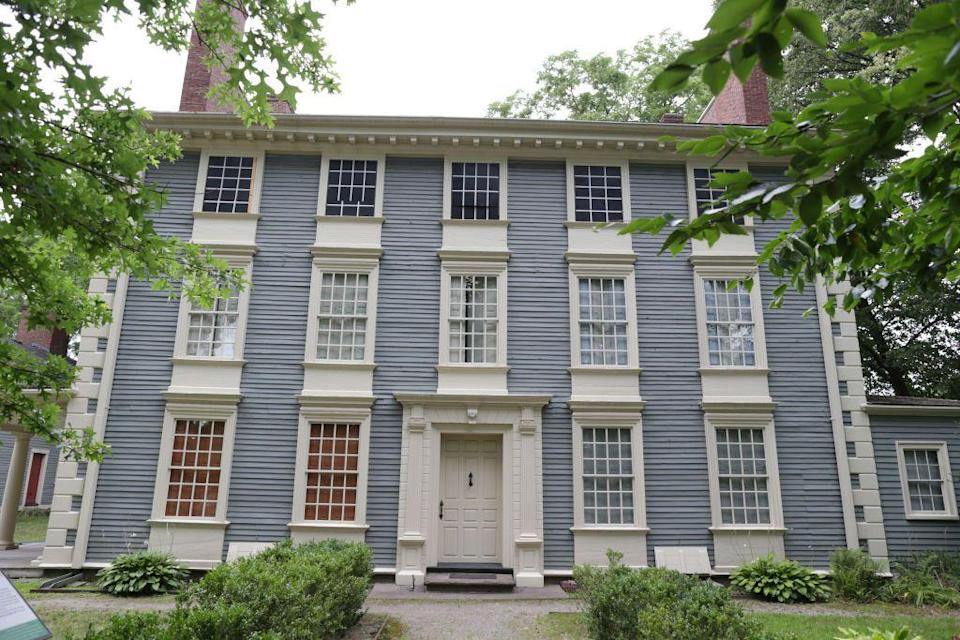 """<p><a href=""""https://royallhouse.org/"""" rel=""""nofollow noopener"""" target=""""_blank"""" data-ylk=""""slk:The Royall House and Slave Quarters"""" class=""""link rapid-noclick-resp"""">The Royall House and Slave Quarters</a> rests in the former home of the largest slaveholding family in Massachusetts and honors the intertwined stories of immense wealth and immense oppression that happened on these grounds. Considered both one of the finest Colonial-era homes and last-remaining freestanding slave quarters in the Northeastern U.S., visitors are able to experience this public memory of slavery in New England to invite uncomfortable yet important conversations and discover what slavery was like during the times of the founding fathers.</p>"""