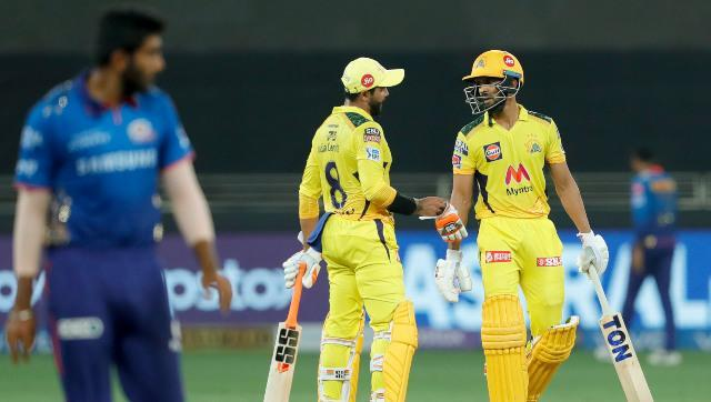 Ravindra Jadeja and Ruturaj Gaikwad shared a crucial 81-run stand for the fourth wicket to bring Chennai Super Kings back on their feet after being reduced to 24/4 at one stage. Sportzpics