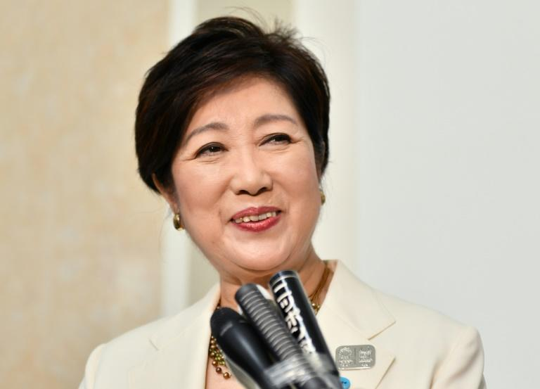 Tokyo governor Yuriko Koike has frequently vowed to clean up the city's act ahead of the 2020 Games