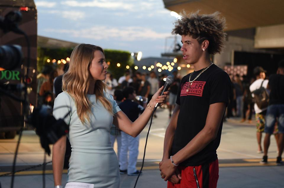 LaMelo Ball isn't your average 16 year old. (Getty)