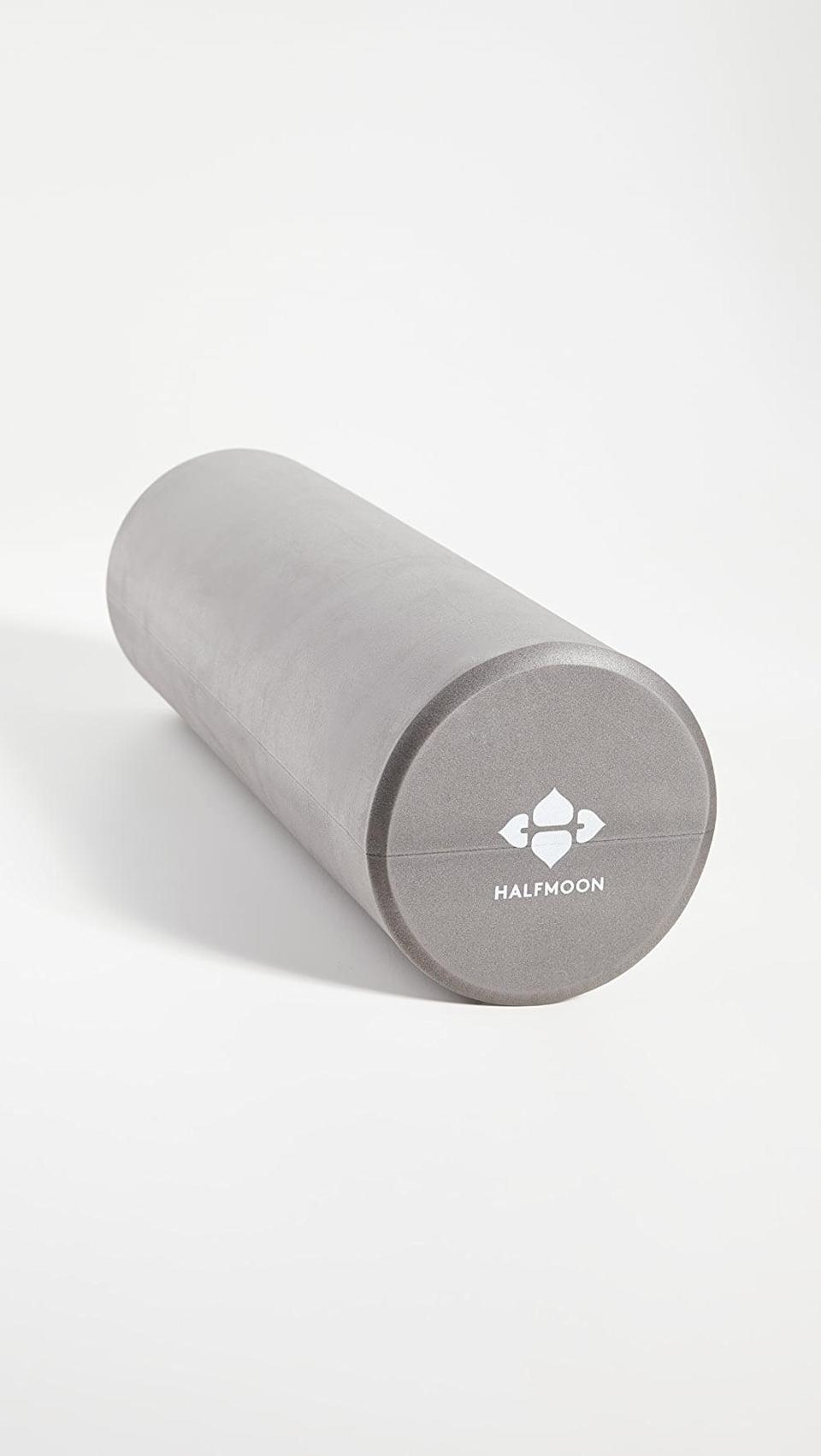 <p>Give them this <span>Halfmoon Yoga Foam Roller</span> ($34); it's the perfect self-care staple.</p>