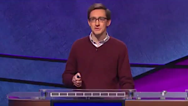 """When it came to a couple of football questions on a """"Jeopardy!"""""""