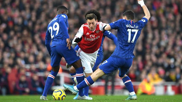 Mesut Ozil impressed in Arsenal's defeat to Chelsea on Sunday, but new head coach Mikel Arteta was not surprised.