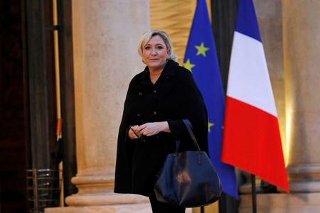 France's Le Pen decries