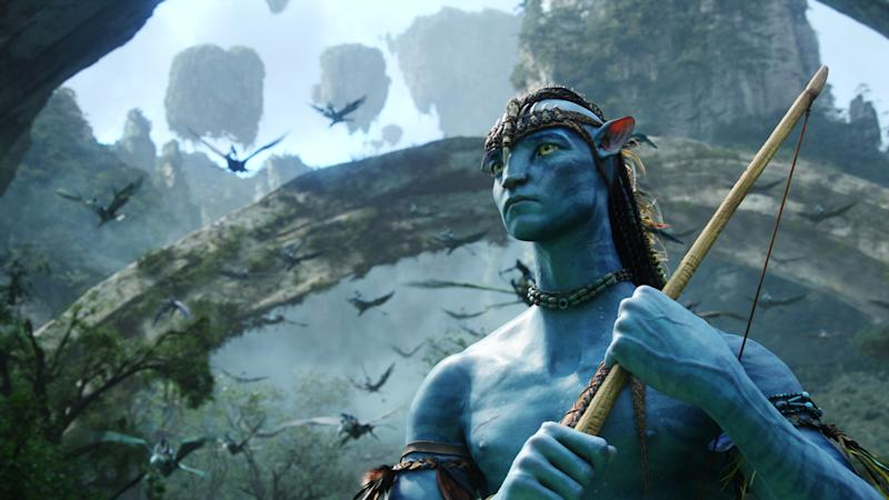 Sam Worthington's Jake Sulley in his Na'vi avatar body. (Credit: 20th Century Fox)