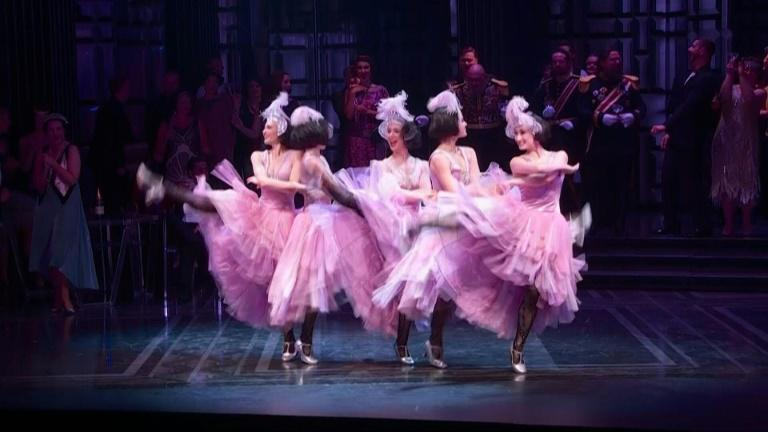 The finishing touches are being put on a glitzy show at the Sydney Opera House, as the venue prepared to host an opera crowd for the first time since March 2020