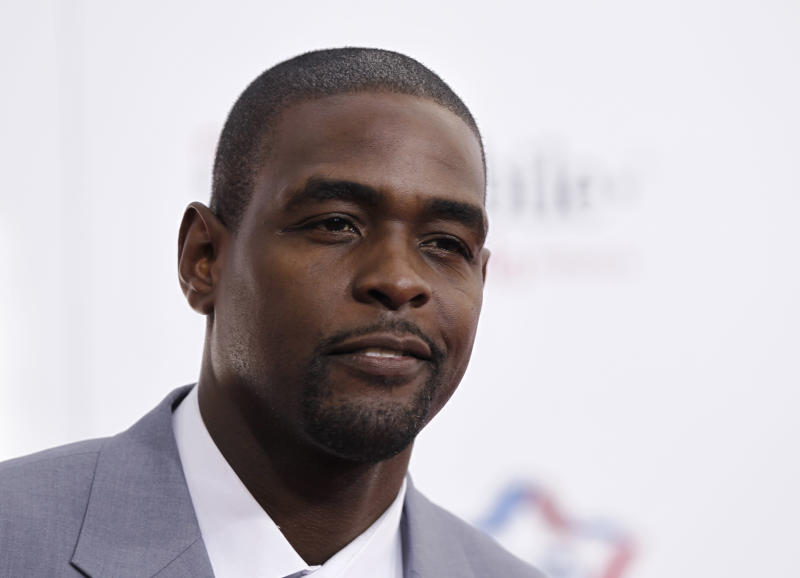 Chris Webber choked back tears and explained why he watches videos of Black people being killed. (AP Photo/Matt Sayles)