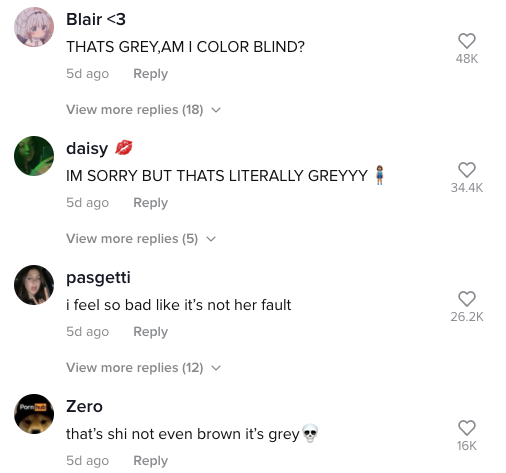 TikTok users couldn't beieve their eyes. Photo: TikTok/lemonlover202.