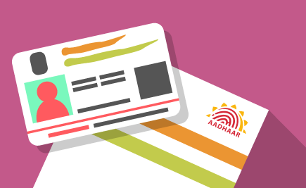 You would mandatorily need your Aadhaar number to avail the facility of getting PAN issued instantly.