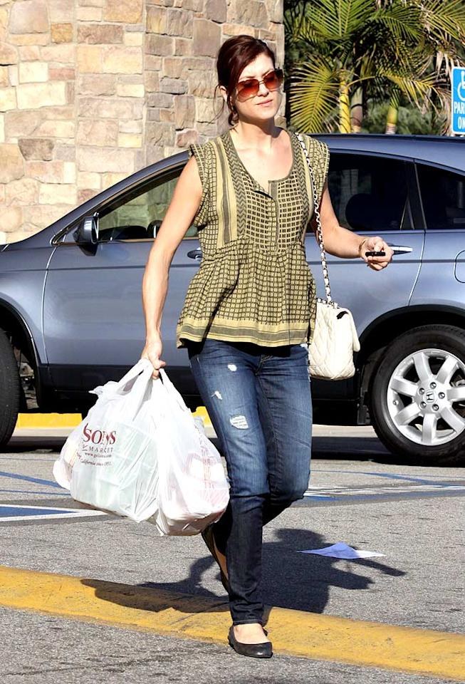 """""""Private Practice's"""" Kate Walsh gets a little holey. APG/<a href=""""http://www.x17online.com"""" target=""""new"""">X17 Online</a> - March 1, 2009"""