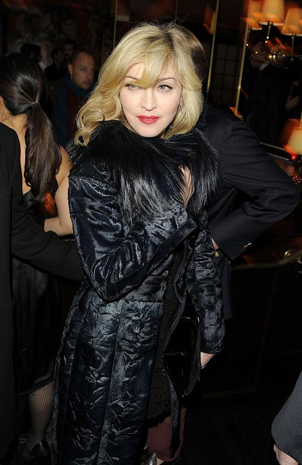 """The """"Material Girl"""" is just one of many American celebrities with Italian roots. Born Madonna Louise Ciccone, something tells me that in her wild younger years, the singer/actress would've fit in just fine with the guidos and guidettes on the """"Jersey Shore""""! Stephen Lovekin/<a href=""""http://www.gettyimages.com/"""" target=""""new"""">GettyImages.com</a> - December 6, 2009"""