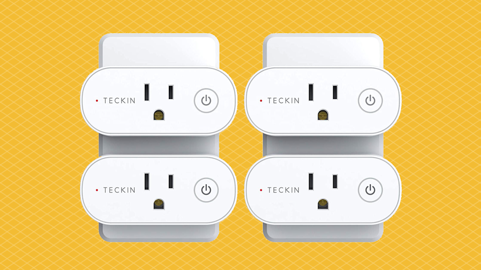 Save 46 percent on this Teckin Smart Home Plugs. (Photo: Amazon)