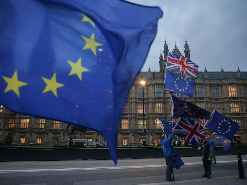 Only 7 per cent of voters think the UK economy will get 'significantly stronger' in the next five years: Getty Images