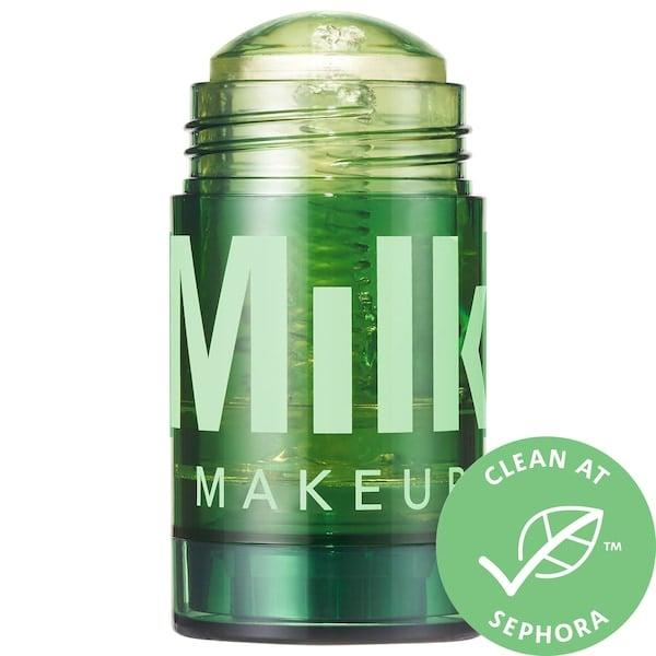 """<p>Get the effects of a body oil in an easy-to-apply stick format with this <product href=""""https://www.sephora.com/product/milk-makeup-cbd-body-oil-stick-P459264?icid2=products%20grid:p459264"""" target=""""_blank"""" class=""""ga-track"""" data-ga-category=""""internal click"""" data-ga-label=""""https://www.sephora.com/product/milk-makeup-cbd-body-oil-stick-P459264?icid2=products%20grid:p459264"""" data-ga-action=""""body text link"""">Milk Makeup CBD + Arnica Solid Body Oil</product> ($50). Its jojoba and olive oils condition skin while broad-spectrum CBD and cannabis-seed oil soothe sore spots. </p>"""