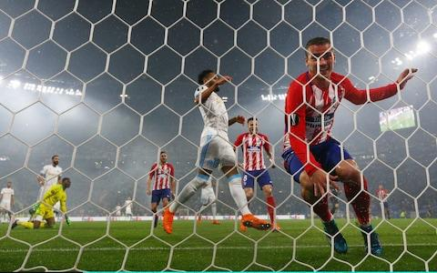 ATletico madrid goal - Credit: GETTY IMAGES