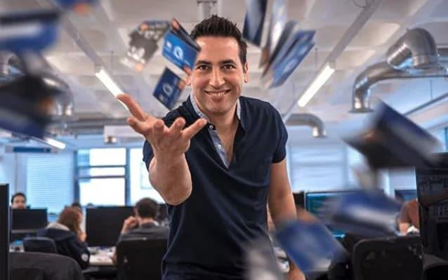 Shachar Bialick, chief executive of Curve, which lets users link up all their bank cards to one card or app - Curve