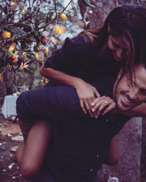 Pia Miller announces her engagement on social media. Photo: Instagram