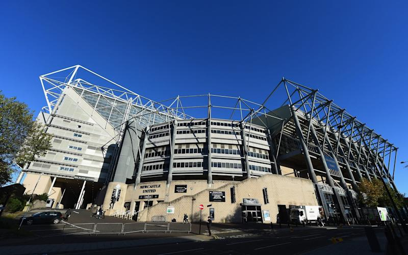 Newcastle managing director Lee Charnley arrested as St James' Park and West Ham stadium are raided by HMRC - Credit: getty images