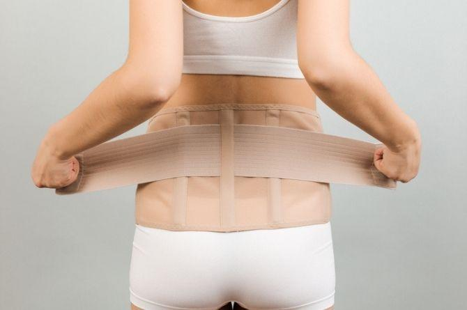 when to start waist training after c section
